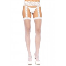 Lace Garter Belt Suspender Sheer Stockings  - Pack of 3 Gothic Plus Gothic Clothing, Jewelry, Goth Shoes & Boots & Home Decor
