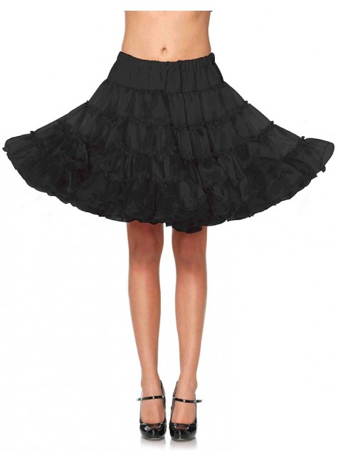 Knee Length Deluxe Crinoline Petticoat at Gothic Plus, Gothic Clothing, Jewelry, Goth Shoes & Boots & Home Decor