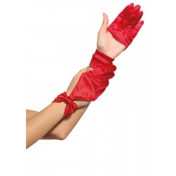 Satin Cut Out Gloves Gothic Plus Gothic Clothing, Jewelry, Goth Shoes & Boots & Home Decor