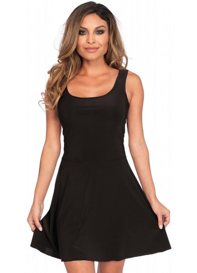 defd0e6bd1f8 Basic Womens Skater Dress