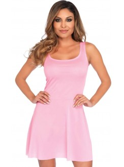 Basic Pink Womens Skater Dress Gothic Plus Gothic Clothing, Jewelry, Goth Shoes & Boots & Home Decor