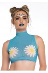 Daisy Blue Crop Top