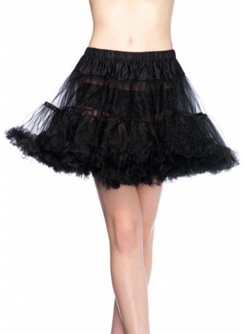 Layered Tulle Petticoat at Gothic Plus, Gothic Clothing, Jewelry, Goth Shoes & Boots & Home Decor