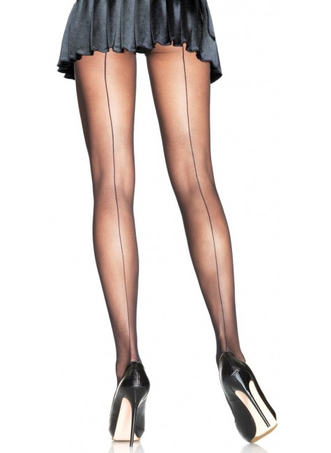 Backseam Sheer Pantyhose - 3 Pack at Gothic Plus, Gothic Clothing, Jewelry, Goth Shoes & Boots & Home Decor