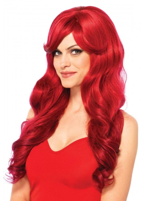 Extra Long Wavy Wig at Gothic Plus, Gothic Clothing, Jewelry, Goth Shoes & Boots & Home Decor