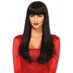 Banging Long Straight Wig Gothic Plus Gothic Clothing, Jewelry, Goth Shoes & Boots & Home Decor