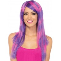Cheshire Layered Two Tone Long Wig