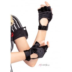 Fingerless Black Motorcycle Gloves Gothic Plus Gothic Clothing, Jewelry, Goth Shoes & Boots & Home Decor