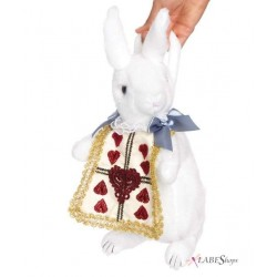 Wonderland Rabbit Plush Purse Gothic Plus Gothic Clothing, Jewelry, Goth Shoes & Boots & Home Decor