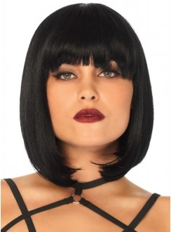 Short Natural Bob Wig Gothic Plus Gothic Clothing, Jewelry, Goth Shoes & Boots & Home Decor
