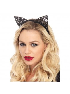 Filigree Glitter Kitty Cat Ears Gothic Plus Gothic Clothing, Jewelry, Goth Shoes & Boots & Home Decor