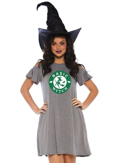 Basic Witch Halloween Party Dress at Gothic Plus, Gothic Clothing, Jewelry, Goth Shoes & Boots & Home Decor