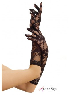 Black Elbow Length Lace Gloves Gothic Plus Gothic Clothing, Jewelry, Goth Shoes & Boots & Home Decor