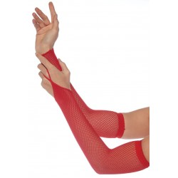 Red Fishnet Arm Warmers Gothic Plus Gothic Clothing, Jewelry, Goth Shoes & Boots & Home Decor