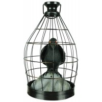 Crow In Cage Animated Decoration