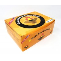 Gold Star Charcoal Large Disks - 40mm
