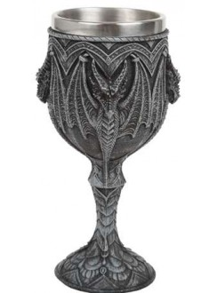 Gothic Dragon Wine Goblet