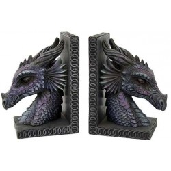 Dragon Head Bookends Gothic Plus Gothic Clothing, Jewelry, Goth Shoes & Boots & Home Decor