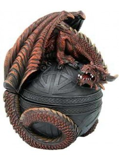 Dragon Guardian Trinket Box
