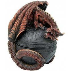Dragon Guardian Trinket Box Gothic Plus Gothic Clothing, Jewelry, Goth Shoes & Boots & Home Decor