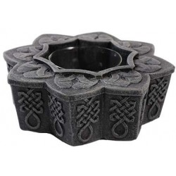 Celtic Tea Light Candle Holder Gothic Plus Gothic Clothing, Jewelry, Goth Shoes & Boots & Home Decor