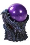 Dragon Head Storm Ball Statue