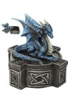 Celtic Cross Dragon Trinket Box