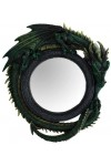 Green Dragon Wall Mirror