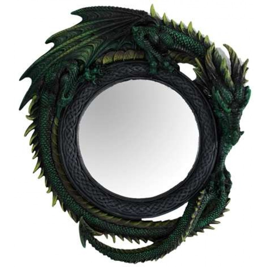 Green dragon wall mirror amipublicfo Gallery