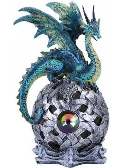 Blue Dragon LED Ball at Gothic Plus, Gothic Clothing, Jewelry, Goth Shoes & Boots & Home Decor