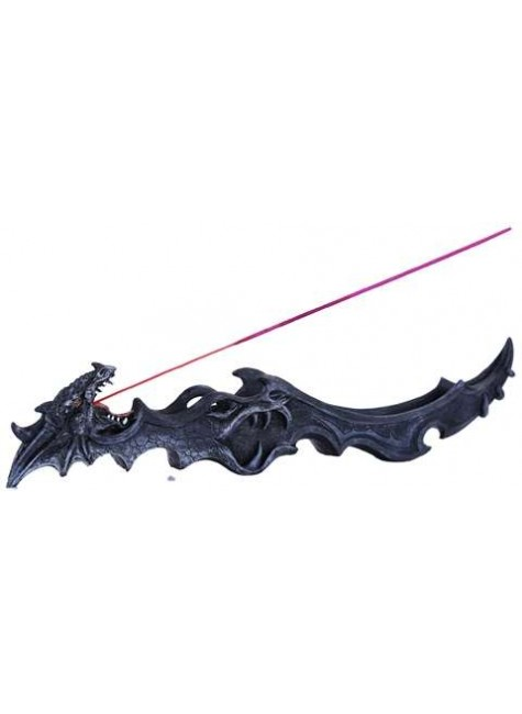 Gothic Dragon Incense Burner at Gothic Plus, Gothic Clothing, Jewelry, Goth Shoes & Boots & Home Decor