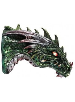 Dragon LED Light Wall Plaque Gothic Plus Gothic Clothing, Jewelry, Goth Shoes & Boots & Home Decor