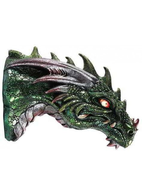 Dragon LED Light Wall Plaque at Gothic Plus, Gothic Clothing, Jewelry, Goth Shoes & Boots & Home Decor
