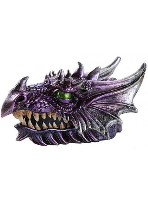Purple Dragon Head Box at Gothic Plus, Gothic Clothing, Jewelry, Goth Shoes & Boots & Home Decor