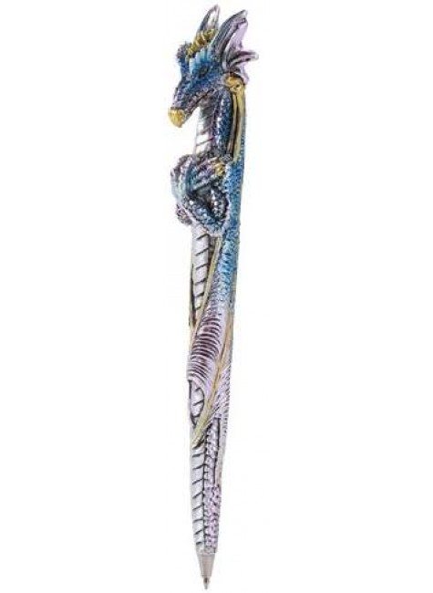 Ice Dragon Refillable Ball Point Pen at Gothic Plus, Gothic Clothing, Jewelry, Goth Shoes & Boots & Home Decor