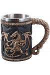 Skeleton Dragon Drinking Tankard