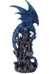 Dragon Castle Guardian Statue
