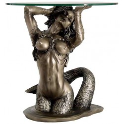 Sunsaitable Mermaid Table by Monte Moore Gothic Plus Gothic Clothing, Jewelry, Goth Shoes & Boots & Home Decor