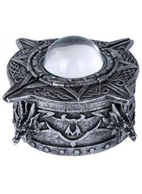 Dragon Orb Trinket Box at Gothic Plus, Gothic Clothing, Jewelry, Goth Shoes & Boots & Home Decor