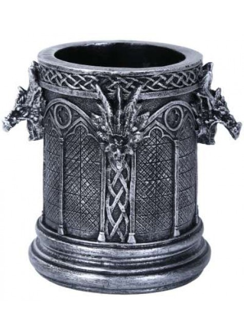 Gothic Dragon Utility Holder Cup at Gothic Plus, Gothic Clothing, Jewelry, Goth Shoes & Boots & Home Decor