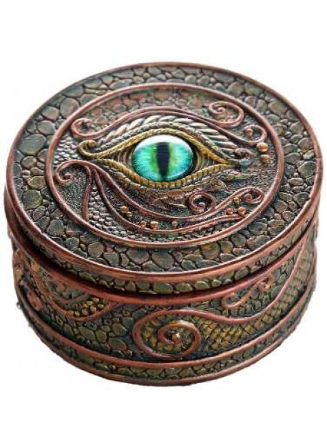 Dragon Eye Trinket Box at Gothic Plus, Gothic Clothing, Jewelry, Goth Shoes & Boots & Home Decor