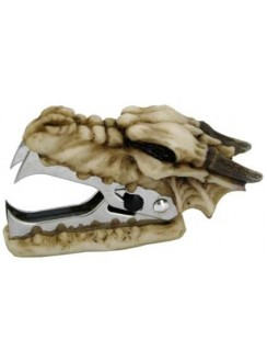 Dragon Skull Staple Remover Gothic Plus Gothic Clothing, Jewelry, Goth Shoes & Boots & Home Decor