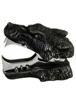 Wolf Head Staple Remover Gothic Plus Gothic Clothing, Jewelry, Goth Shoes & Boots & Home Decor