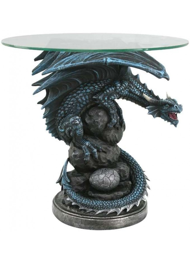 Mother Dragon Glass Top Accent Table At Gothic Plus, Gothic Clothing,  Jewelry, Goth