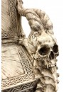 Skull Throne Gothic Chair at Gothic Plus, Gothic Clothing, Jewelry, Goth Shoes & Boots & Home Decor