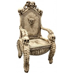 Skull Throne Gothic Chair Gothic Plus Gothic Clothing, Jewelry, Goth Shoes & Boots & Home Decor