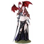 Fantasy Art Statue and Plaques Gothic Plus Gothic Clothing, Jewelry, Goth Shoes & Boots & Home Decor