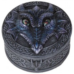 Dragon Box with Movable Eyes Gothic Plus Gothic Clothing, Jewelry, Goth Shoes & Boots & Home Decor