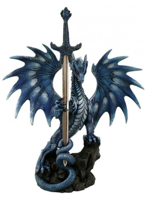 Sea Blade Dragon Desk Top Letter Opener at Gothic Plus, Gothic Clothing, Jewelry, Goth Shoes & Boots & Home Decor