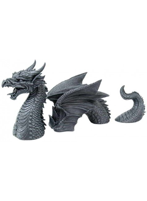 Dragon of a Fallen Castle Moat Statue at Gothic Plus, Gothic Clothing, Jewelry, Goth Shoes & Boots & Home Decor